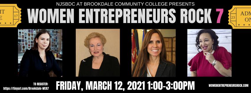 Women Entrepreneurs Rock 7 - March 12, 2021