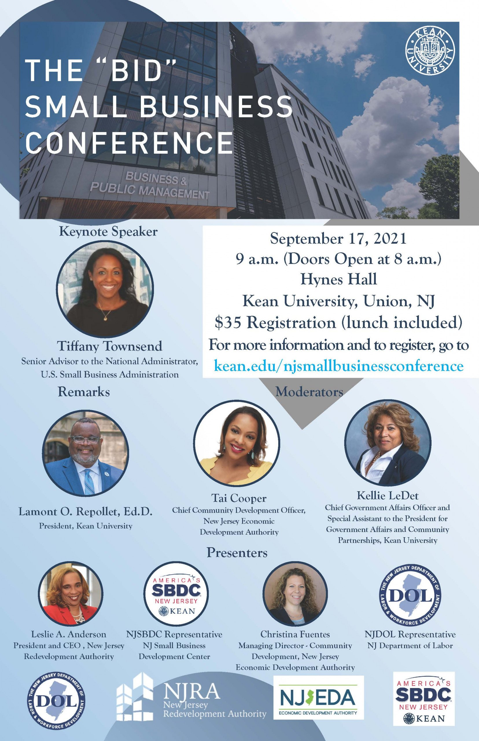 Bridging the Information Divide - BID Small Business Conference - Sept-2021