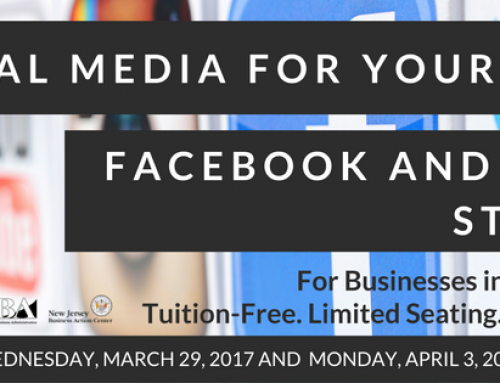 Tuition-Free Workshop: Social Media For Your Business on April 5th