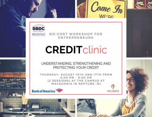 Credit Clinic August 10th and 17th