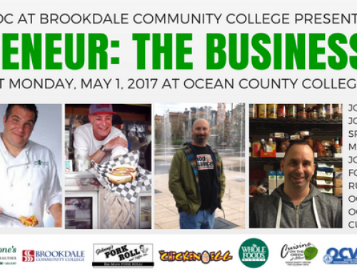 Foodiepreneur: The Business of Food on May 1, 2017 at Ocean County College