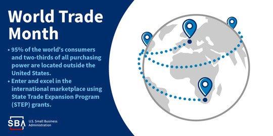 SBA Celebrates World Trade Month 2021