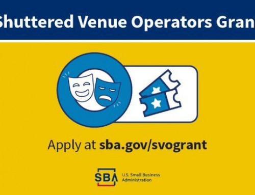 SVOG – Shuttered Venue Operators Grant