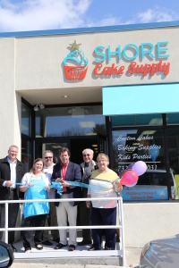 Shore Cake Supply, Grand Opening: Ribbon Cutting Ceremony, March 8 , 2014