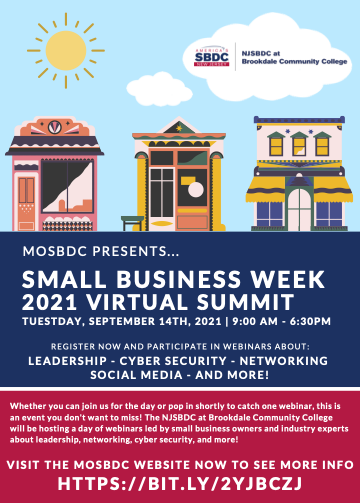 Small Business Week is just around the corner!