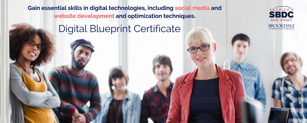 Digital Blueprint Certificate